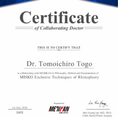 MISKO 日本で唯一のコラボレーションDrに認定されました