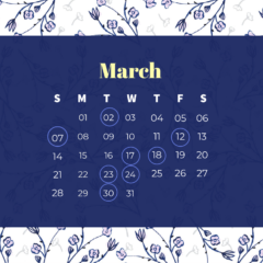 3月休診日のお知らせ